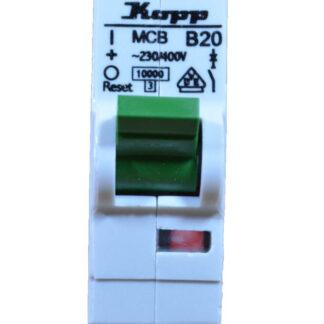 Kopp Leitungsschutzschalter - B20 A 1polig