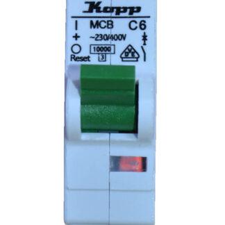 Kopp Leitungsschutzschalter - C A 1polig