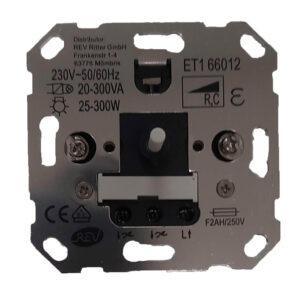 Düwi REV Ersatz Dimmer Helligkeitsregler für Elektronische Trafos ET1 66012