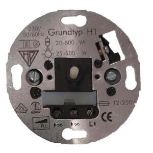 Düwi REV Ersatz Dimmer Helligkeitsregler für konventionelle Trafos Grundtyp H1