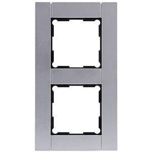 Rev Ritter Optima 2-Fach Rahmen , Metall