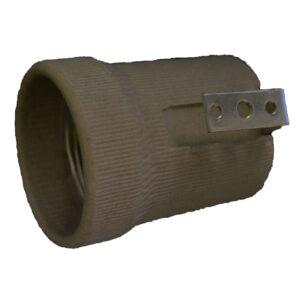 Kanlux Fassung E27 Keramik mit Befestigungsbügel