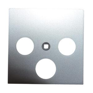 Jung SAT Abdeckung A561PLSAT , AL , Aluminium