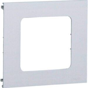 Hager L91709010 Brüstungskanal Blende 1-fach reinweiß