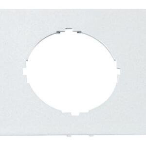 Hager L93009010 Geräte Blende 1-fach d=45mm reinweiß