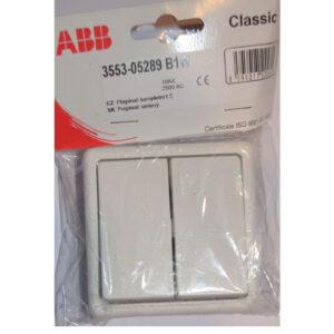 ABB Classic Serienschalter Nr. 5 , weiß
