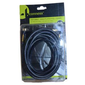 4Connex DVI Kabel , 24 + 1 Pins , 3 m