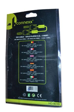 4Connex DVI Kabel . 24 + 1 Pins