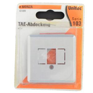 Unitec Serie 103 Monza TAE Abdeckung , silber