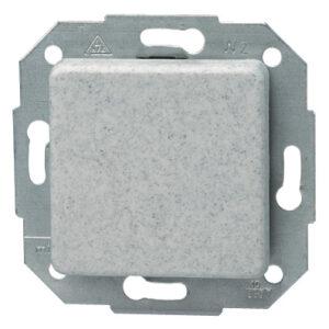 Kopp Europa Universalschalter ( Aus und Wechselschalter) , granit grau