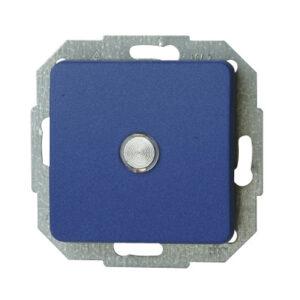 Kopp Milano Kontrollschalter beleuchtet , blau