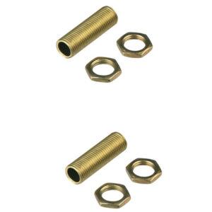 REV Messing-Gewinderohr M10x1 Durchmesser 26 mm