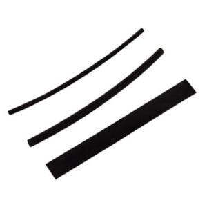 REV Schrumpfschlauch, schwarz , 25 Stück