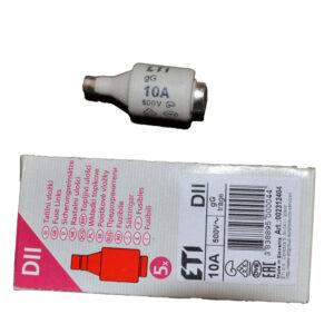 REV Ritter Diazed Sicherungseinsatz Diazed 10A , DII E27, 5 Stück
