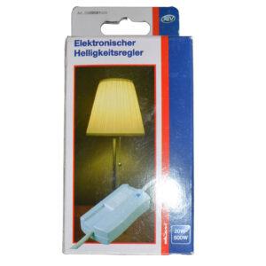 REV Schnurzwischendimmer, Lichtdimmer, Helligkeitsregler, Lampendimmer, weiß