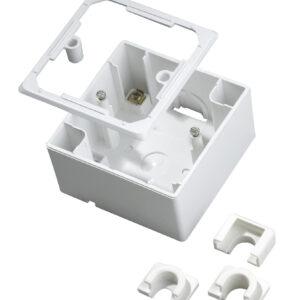 Kopp Standard – Aufputzgehäuse zur Montage von UP-Schalter