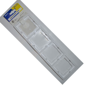 Kopp Malibu Rahmen 4-fach , weiß