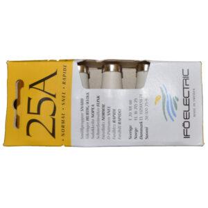 Iföelectric Diazed Sicherungseinsatz D II, E 27, 25 A, 5 Stück