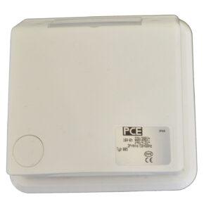 PCE CEE-Unterputzsteckdose 16A, 5-polig, IP44