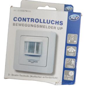 REV Bewegungsmelder Unterputz 120° weiß Controlluchs