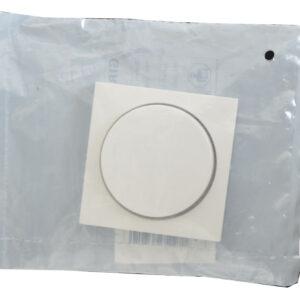 Gira System 55 Abdeckung für Dimmer , reinweiß seidenmatt