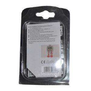 WAGO Dosenklemme COMPAKT 8x0,5-2,5mm², 15 Stück