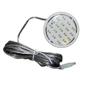Paulmann Aufbau LED , 1 x 1 ,22W 12V 59mm , weiß, 92004 rund